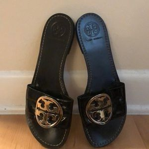 Authentic Tory Burch slides